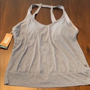 Tops - Prana workout tank with slight padding in bust